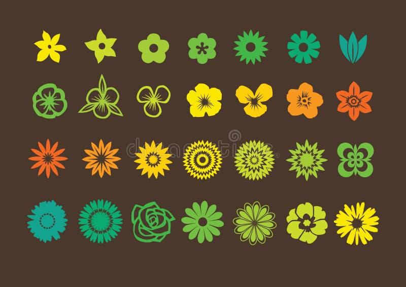Paquete de las flores libre illustration