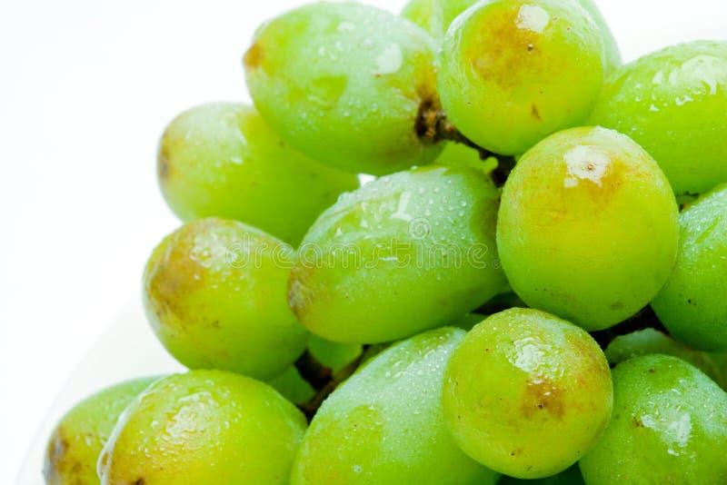 Paquete del primer de uvas fotos de archivo
