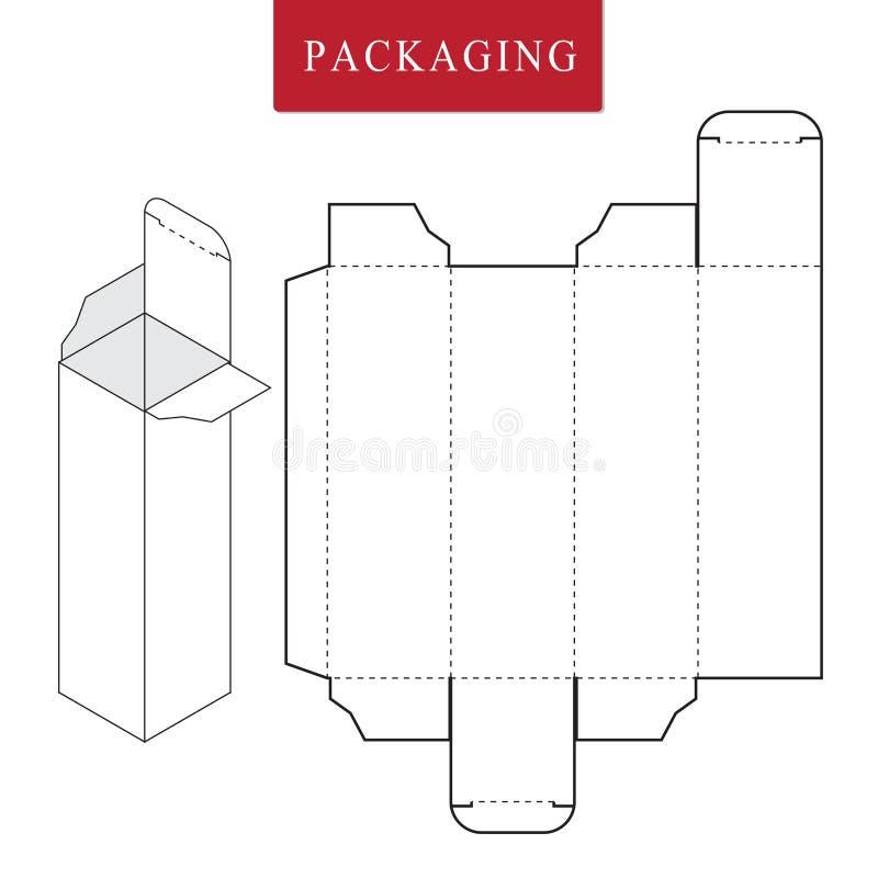 Paquete para el objeto o stock de ilustración