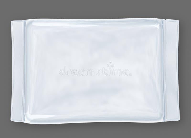Paquete Plástico Foto de archivo