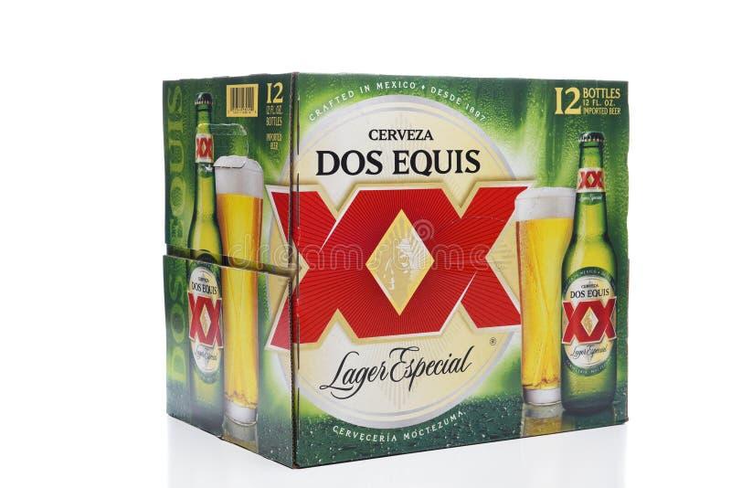 6 paquetes de Dos Equis Lager Especial foto de archivo libre de regalías