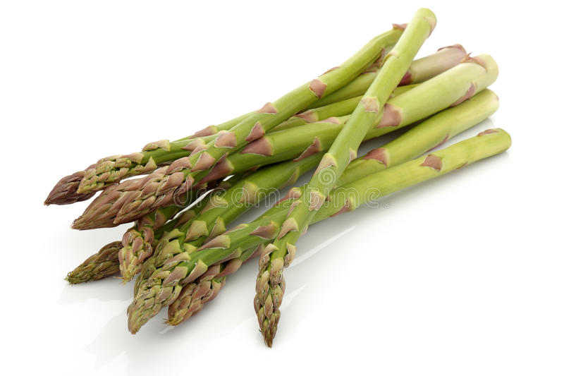 Paquets d'asperge image stock