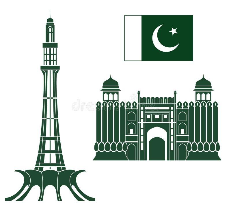 paquistão ilustração stock