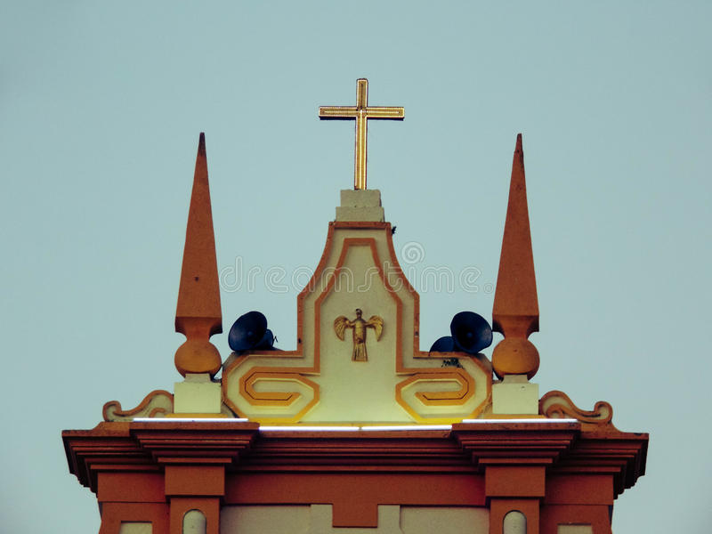 Parà ³ quia Divino Espirito Santo obraz royalty free