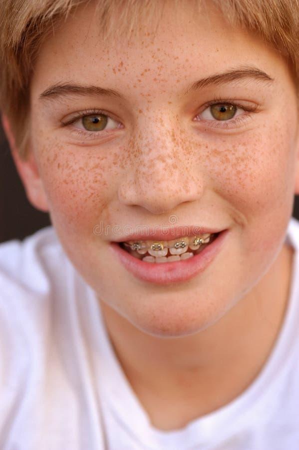 Paréntesis con sonrisa fotos de archivo libres de regalías