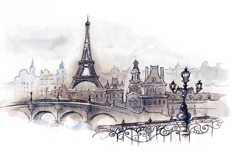 París libre illustration