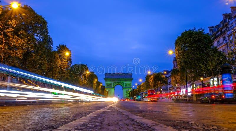 París Arc de Triomphe fotos de archivo