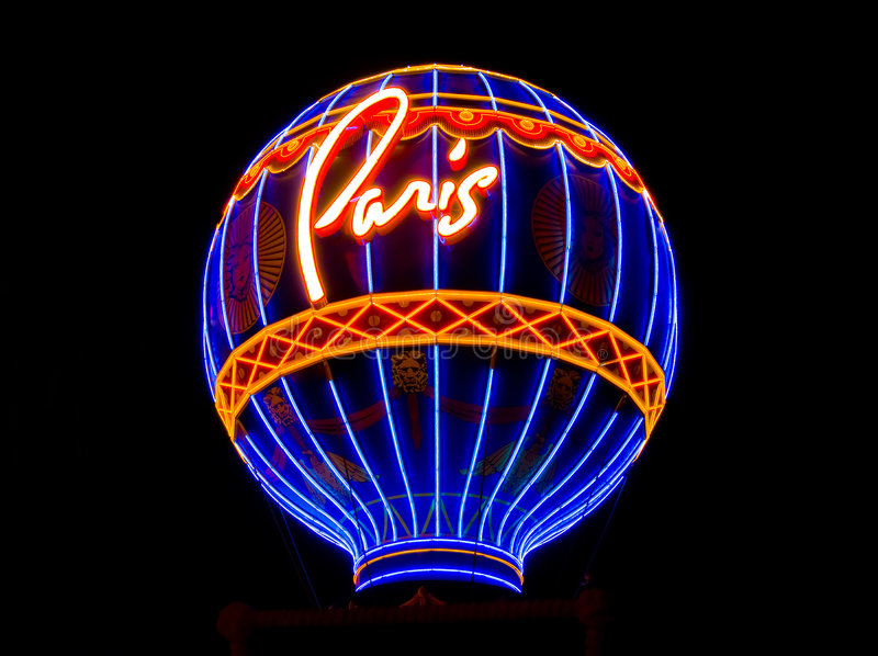 París en Las Vegas foto de archivo libre de regalías