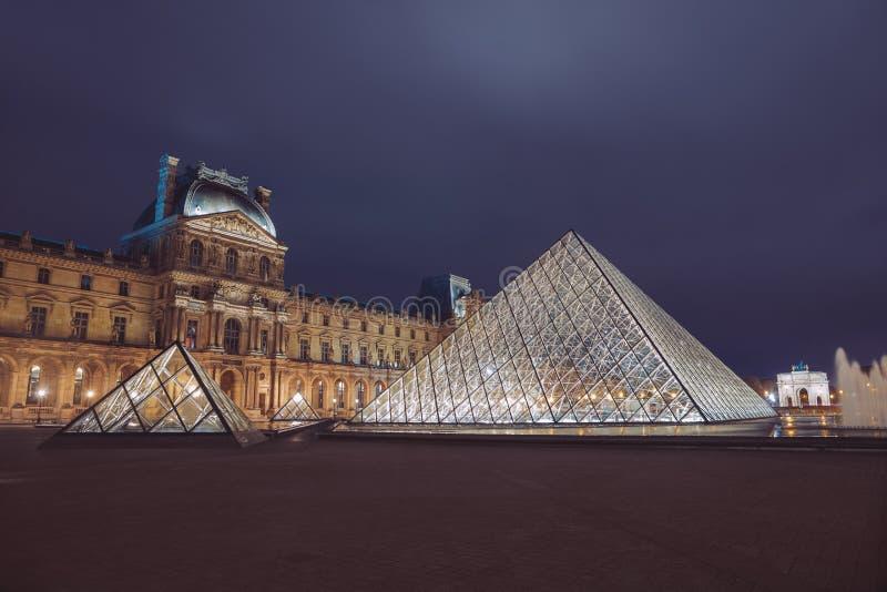 PARÍS, FRANCIA - 30 de septiembre de 2017 Museo de la lumbrera en París Francia imágenes de archivo libres de regalías