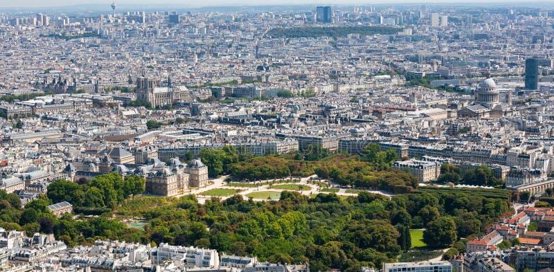 París, Francia, paisaje urbano París central al sur del río Sena foto de archivo libre de regalías