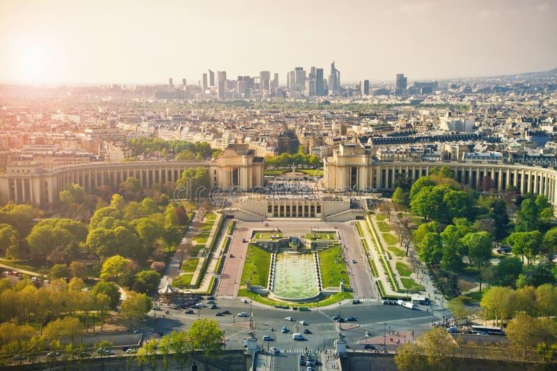 París hermosa de la torre de Effel foto de archivo libre de regalías