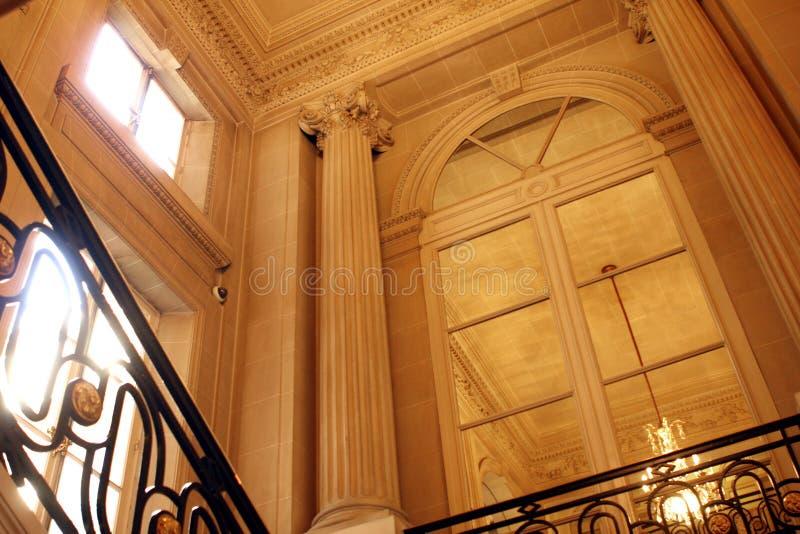 PARÍS: Hotel del palacio de Crillon imágenes de archivo libres de regalías