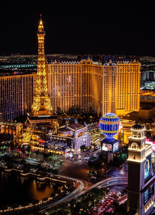 París Las Vegas foto de archivo