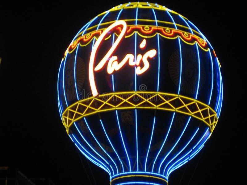 París, Las Vegas foto de archivo libre de regalías