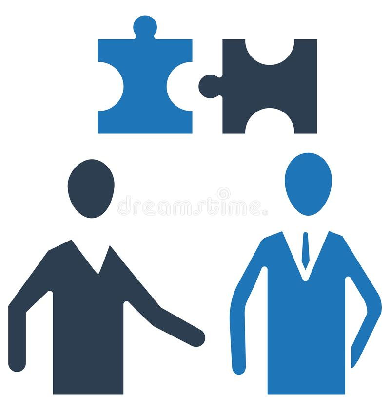 Par av figursågen, isolerad vektorsymbol för affär lösningen kan vara lätt redigerar och ändrar stock illustrationer