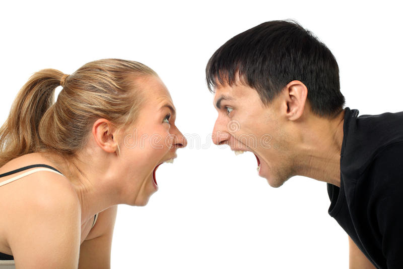 par gråter lyckligt arkivfoto