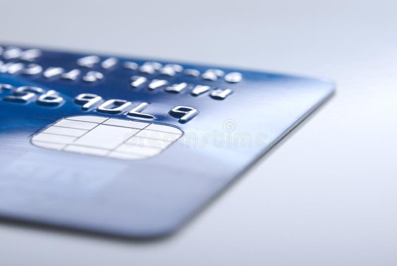 Par la carte de crédit photographie stock libre de droits