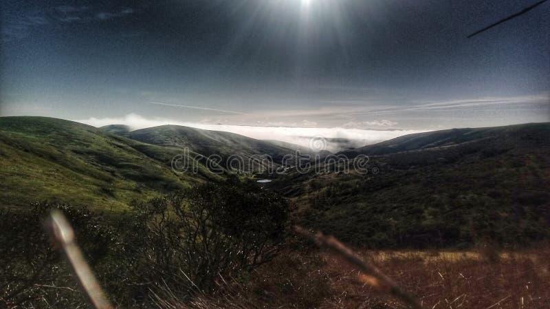 Par la vallée photos libres de droits