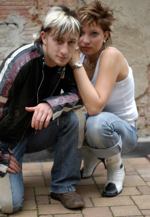 par młodych obraz royalty free