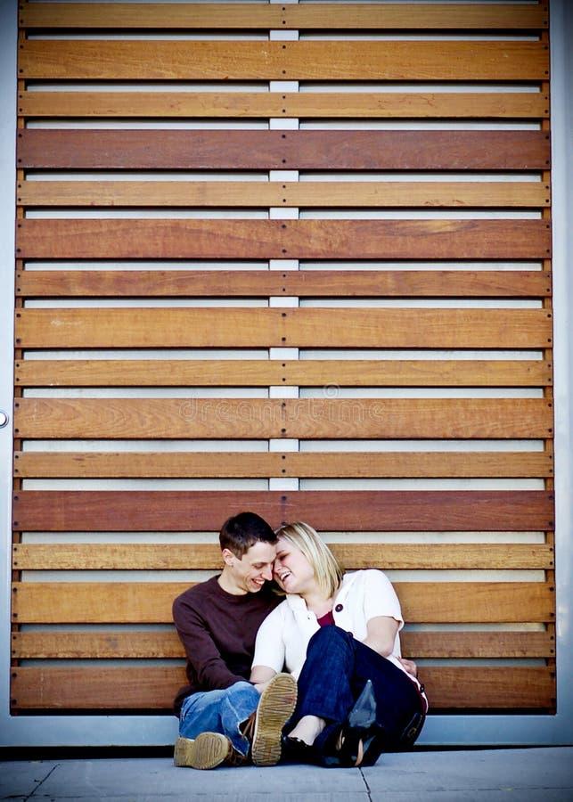 par młodych fotografia stock