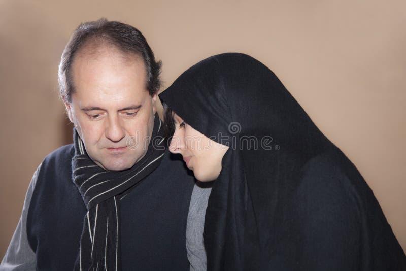 par muslim zdjęcia stock