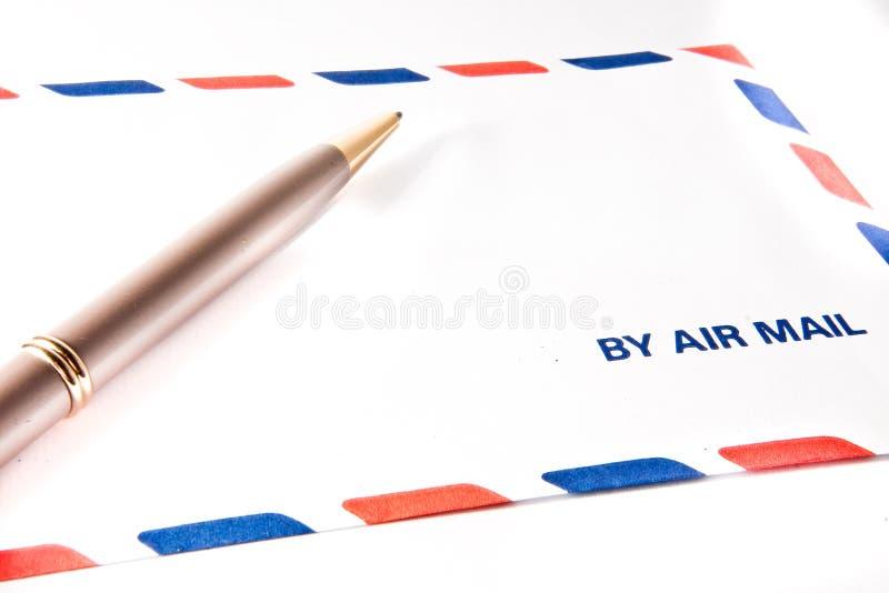 Par poste aérienne images stock