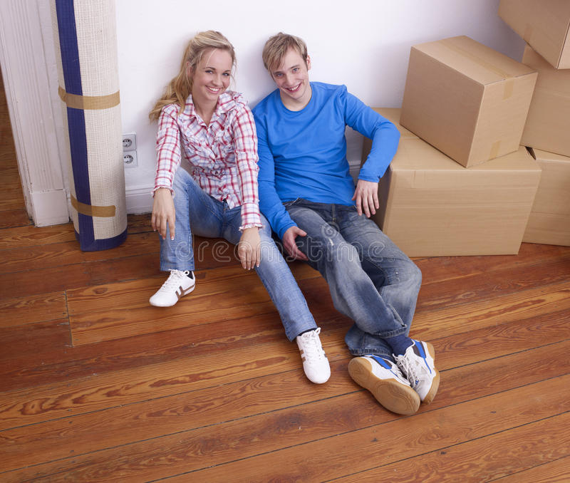 par returnerar moving barn royaltyfri fotografi