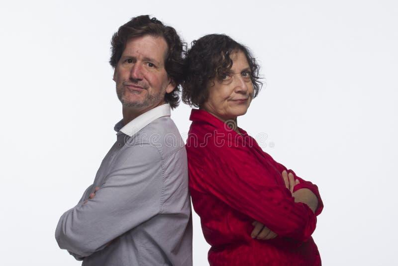Par som förargas med de, horisontal fotografering för bildbyråer