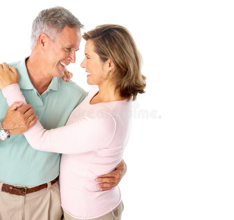 par starsze osoby zdjęcie stock