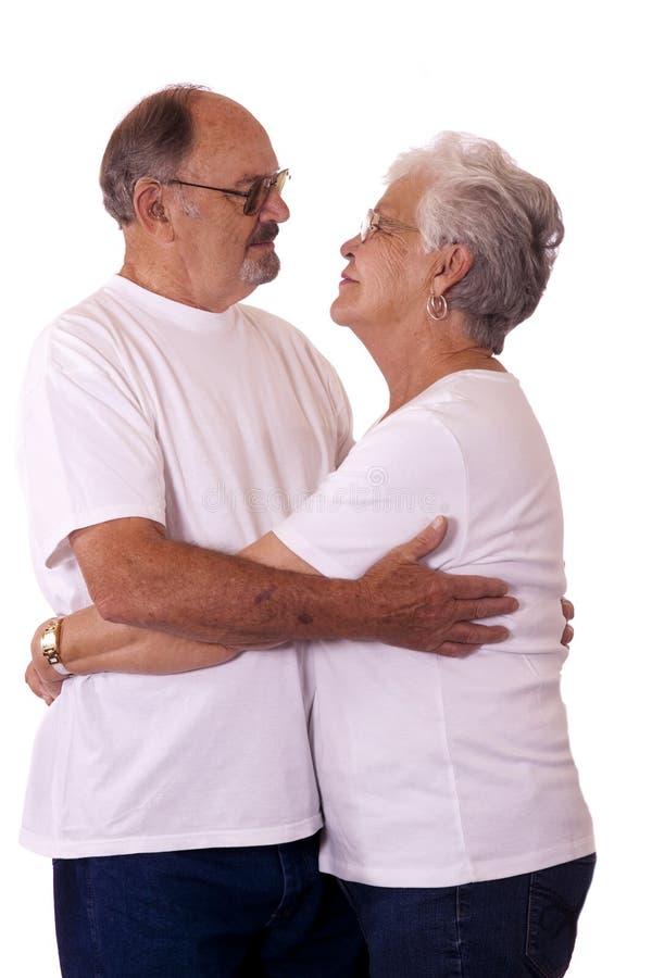 par starsze osoby fotografia royalty free