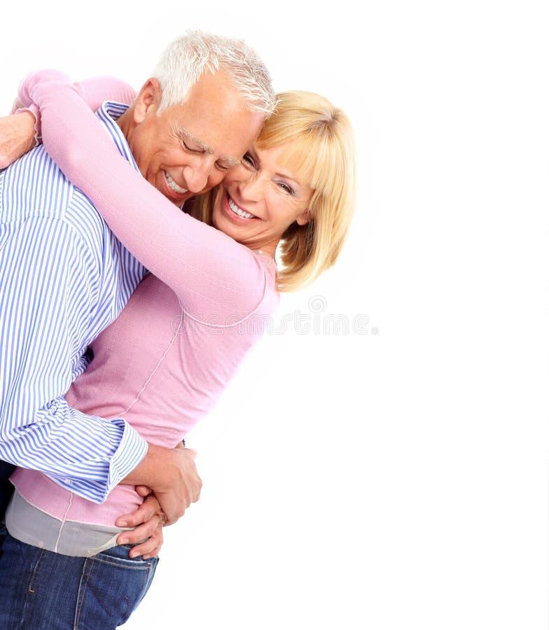 par starsze osoby obrazy stock