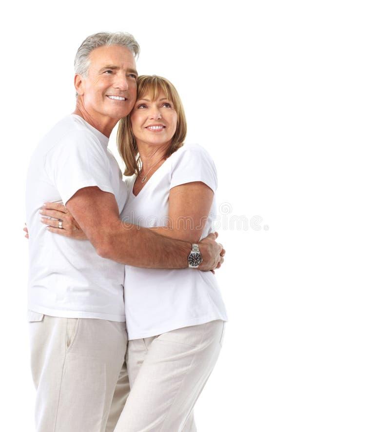 par starsze osoby obraz stock