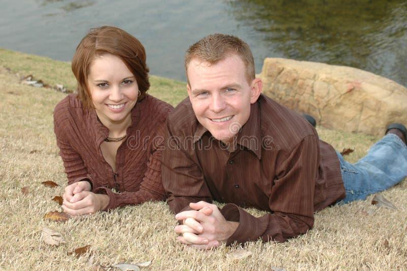 par tillsammans royaltyfri foto