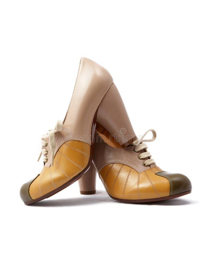Barato desde Español Amazonas Zapatos beige vintage para mujer 9MZrhG
