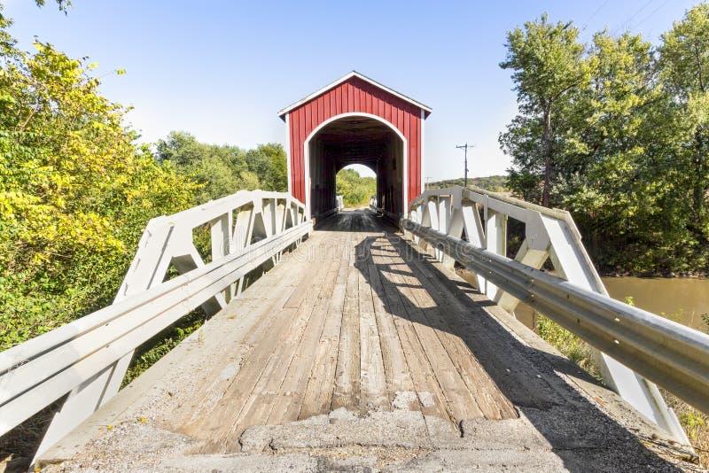 Par Wolf Covered Bridge photo libre de droits