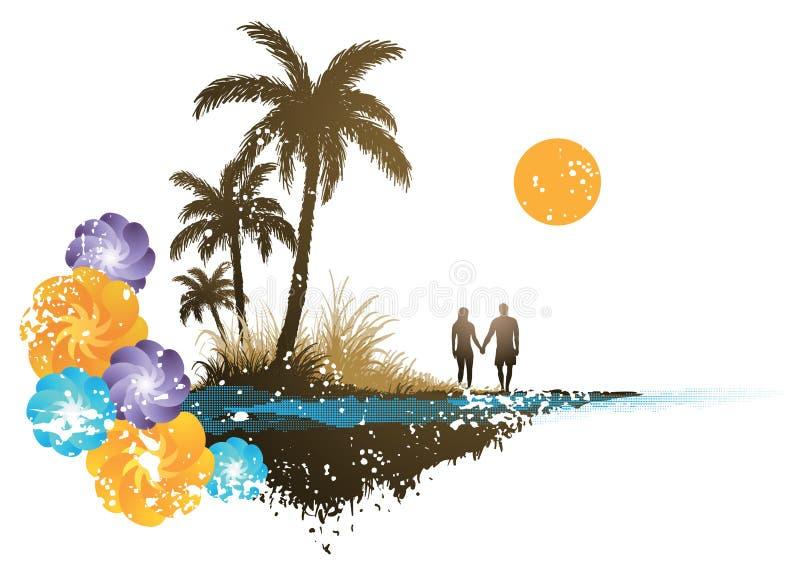 Paraíso Da Palmeira Foto de Stock