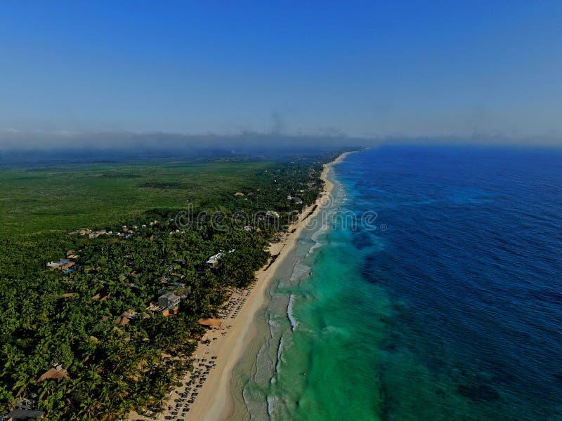 Paraíso da praia em México imagem de stock royalty free