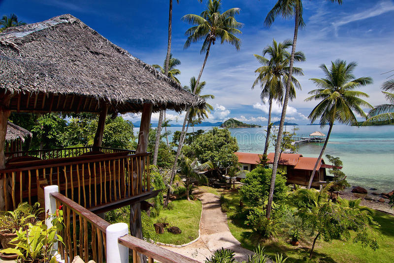 Paraíso de Koh Mak fotografía de archivo libre de regalías