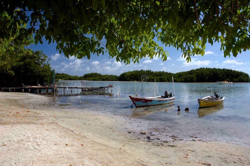 Paraíso del Caribe fotos de archivo libres de regalías