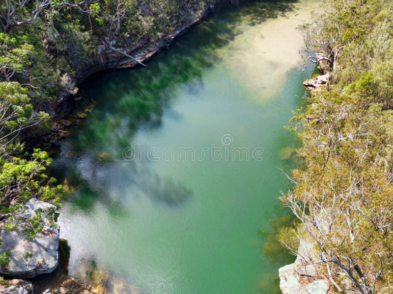 Paraíso do furo de água de Bushland fotos de stock royalty free