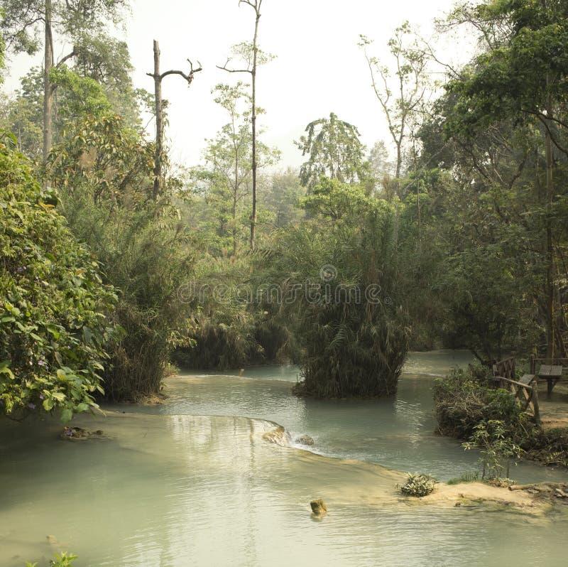 Paraíso em laos imagem de stock