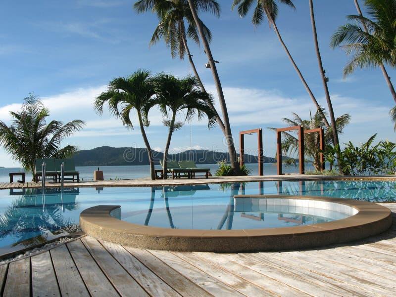 Paraíso em Tailândia fotografia de stock royalty free