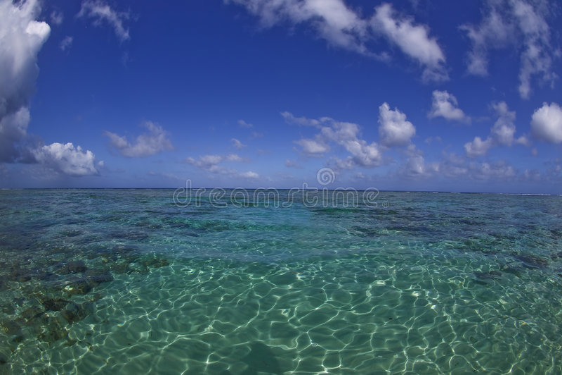 Paraíso ideal tropical da praia imagem de stock