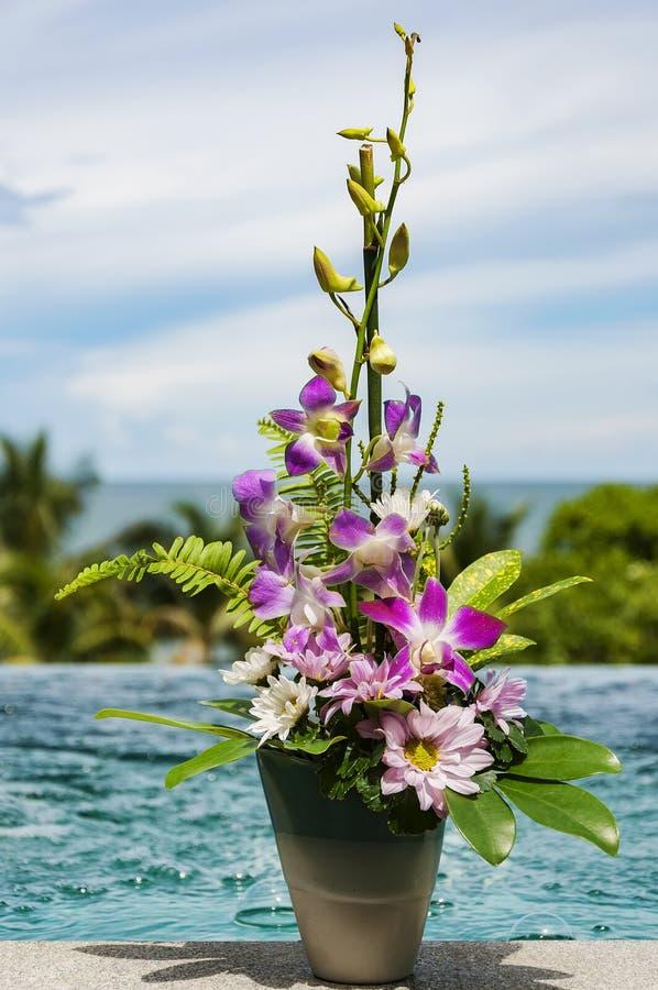 Paraíso luxuoso tailandês fotos de stock royalty free