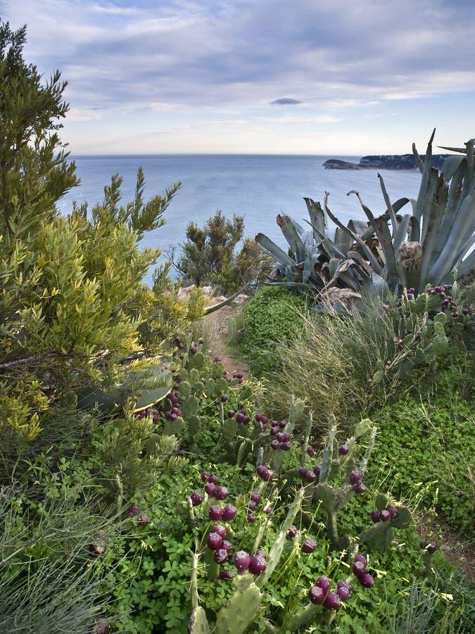 Paraíso mediterrâneo foto de stock royalty free