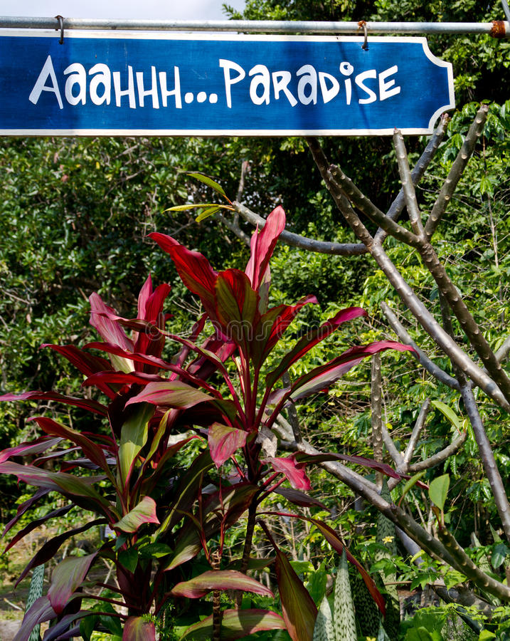 Paraíso na ilha grande fotos de stock royalty free