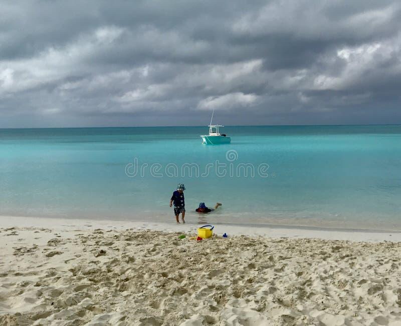 Paraíso no Bahamas fotos de stock