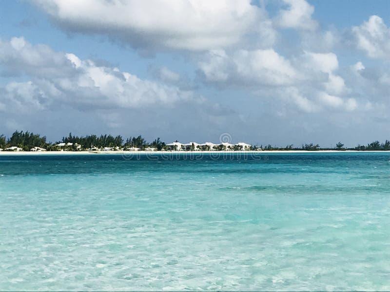 Paraíso no Bahamas fotografia de stock