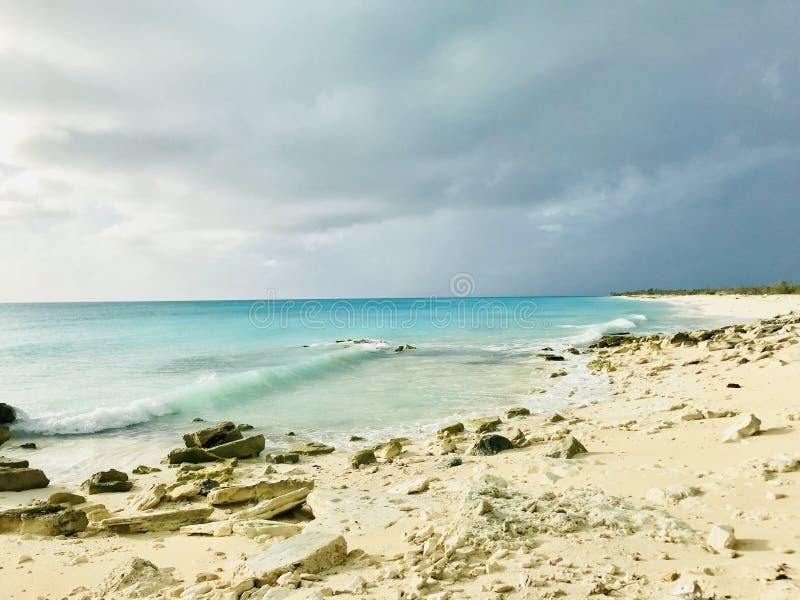 Paraíso no Bahamas imagem de stock