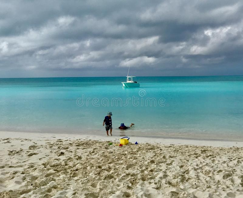 Paraíso no Bahamas imagem de stock royalty free